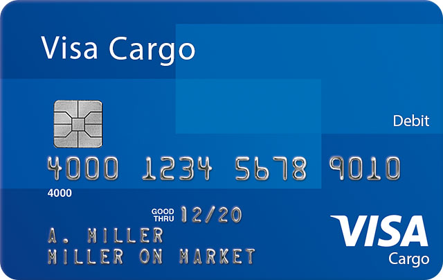 Visa Cargo Debit Card